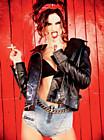 Алессандра Амбросио (Alessandra Ambrosio) в фотосессии Эллен фон Унверт (Ellen von Unwerth) для журнала Vogue Brazil (сентябрь 2014)