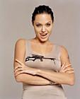 Анджелина Джоли (Angelina Jolie) в фотосессии Фируза Захеди (Firooz Zahedi) для журнала Movieline (июнь 2001)