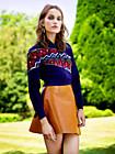 Каролина Ваз (Karolina Waz) в фотосессии Давида Васильевича (David Vasiljevic) для журнала ELLE UK (ноябрь 2014)