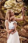 Джемма Уорд с дочкой в рекламе Country Road
